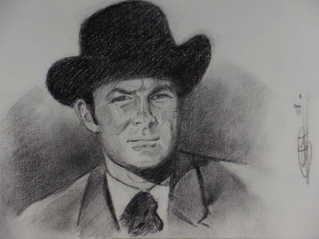 Portrait Robert Conrad/James West [Graphite] Pc200715