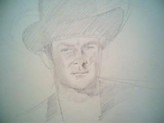 Portrait Robert Conrad/James West [Graphite] Pictur10