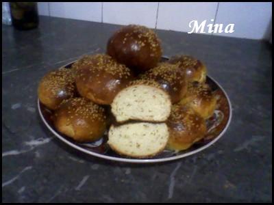 Krachels ou 9rachels marocains ou Brioches marocaines, version de la ville de Fès au Maroc Mina212