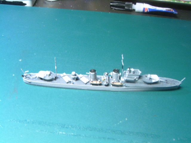 Destroyer E CLASS par L'ancien au 1/700ème - Aoshima Ens-te10