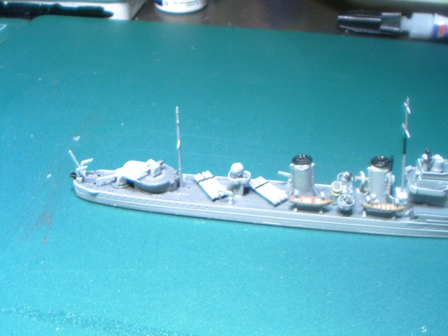 Destroyer E CLASS par L'ancien au 1/700ème - Aoshima Ens-te11