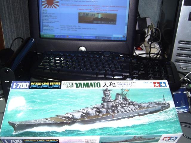 Le YAMATO au 700 ème de TAMIYA Pict0059