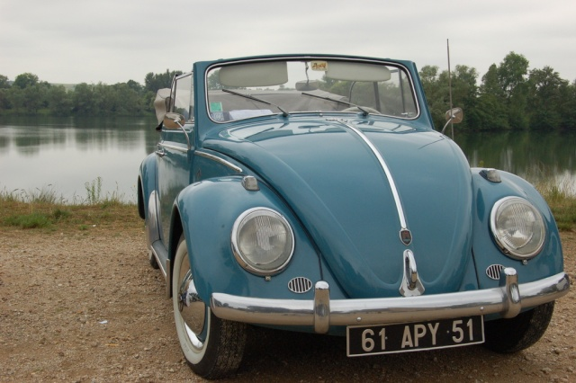 Cabriolet Golf Blue 1961 Dsc05310