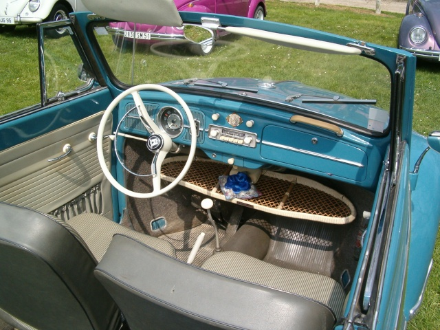 Cabriolet Golf Blue 1961 Hpim2610