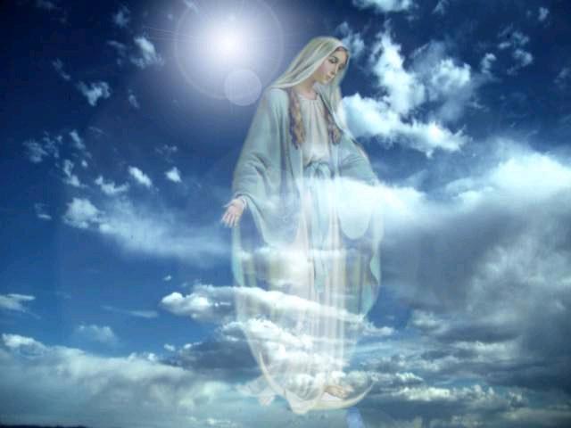 angeli nel cielo