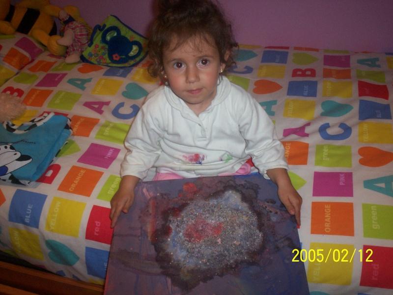 mi hija en pintura Prepar10