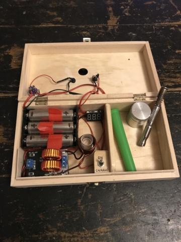 [Bricolage électronique] Système de chauffe a induction pour vaporisateur 87991b10