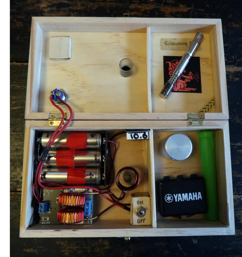 [Bricolage électronique] Système de chauffe a induction pour vaporisateur Boite110