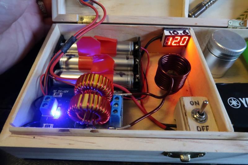 [Bricolage électronique] Système de chauffe a induction pour vaporisateur Boite210