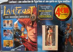 """Test """"Lanfeust les dossiers officiels"""" Editions Atlas Mini-l10"""