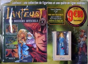 """Test """"Lanfeust les dossiers officiels"""" Editions Atlas Mini-l15"""