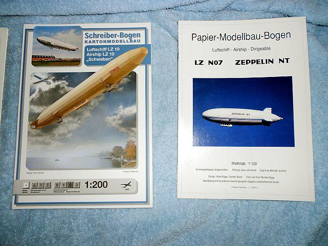 Meine ZEPPELIN- Flotte Lz0210