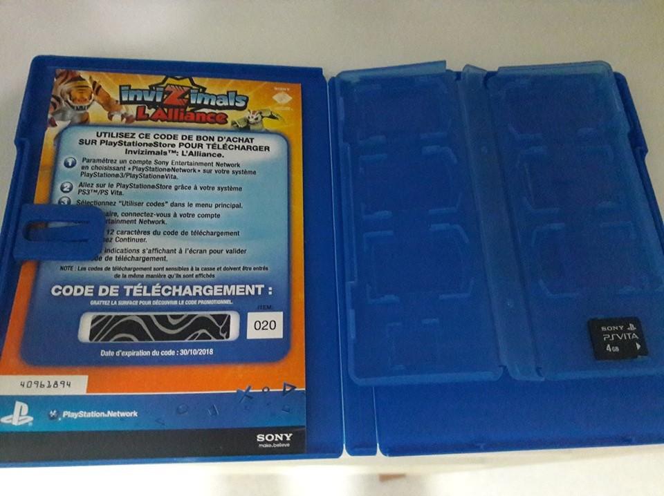 [EST] Pack PS VITA Slim complete + carte mémoire 42703510