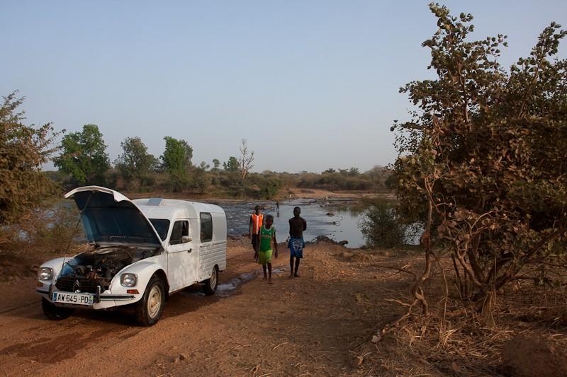 13-de Bamako à Kayes en suivant la voie ferrée Bamako14