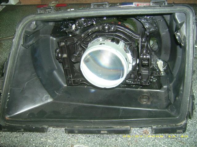 Dennis sein Ascona C  Bi -Xenon Umbau Dsci6111