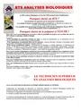 Quelques informations sur la filière Analyses Biologiques à l'ENCPB Bts_an14