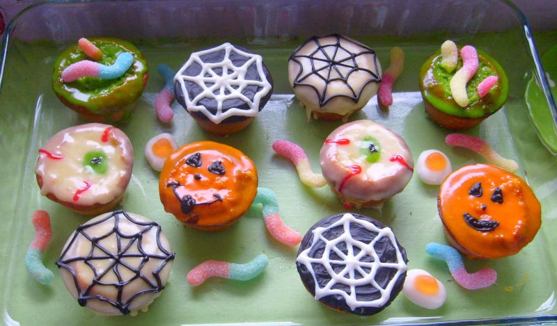 muffins et cupcakes d'halloween Hallow10