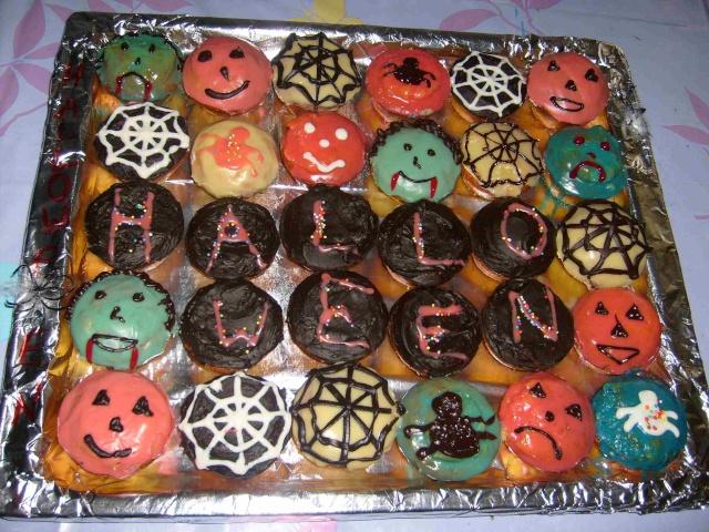 muffins et cupcakes d'halloween Hallow12