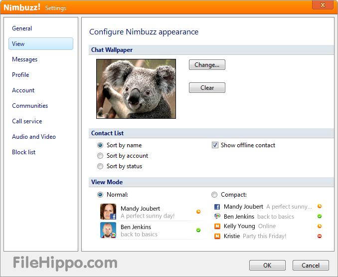 برنامج Nimbuzz 2.5.2, 2013 النسخه الاخيره 2665_n10