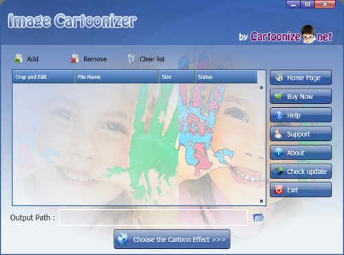 برنامج Image Cartoonizer 3.5.0, الاصدار الاخير 4b71fa10