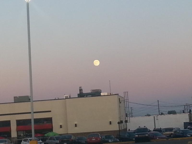 J'ai photographier la Lune  ( 22 Juin 2013 ) 03410