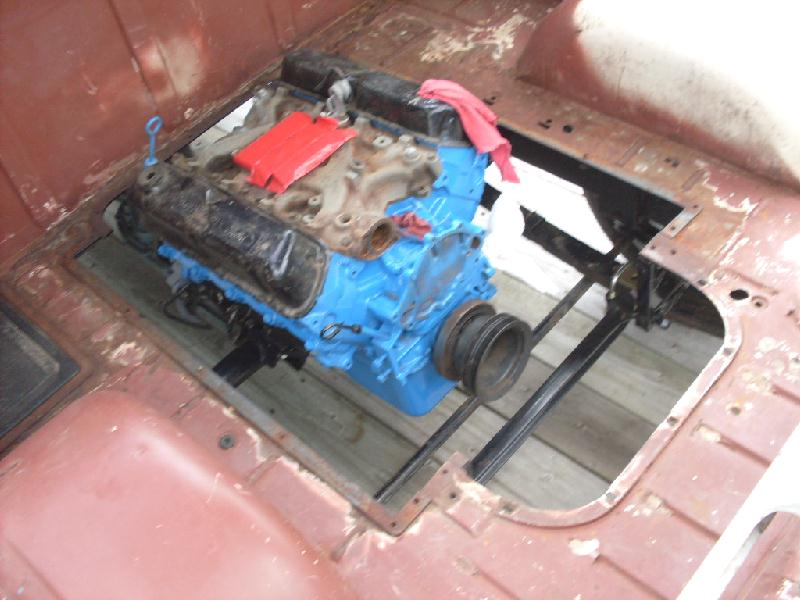 Looking for pictures of a v8 swap in a Econoline