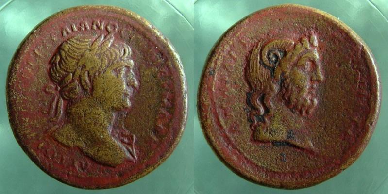 Trajan et Zeus (IOVI) de Cyrenaique Trajan10