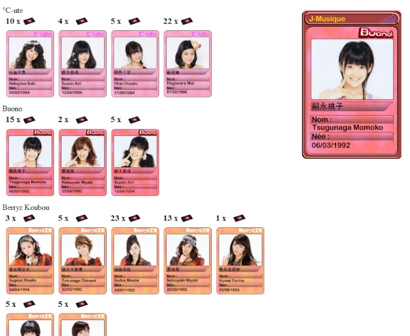 Jeu en ligne sur le H!P (sur J-Musique !) Groupe10