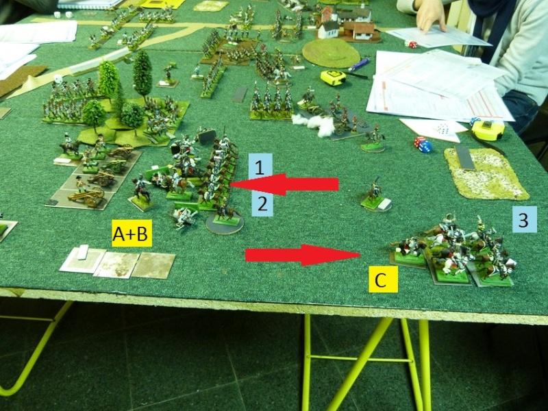 Français contre Prussiens. Aile_g11