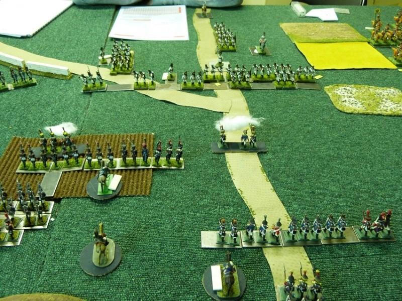 Français contre Prussiens. Centre10