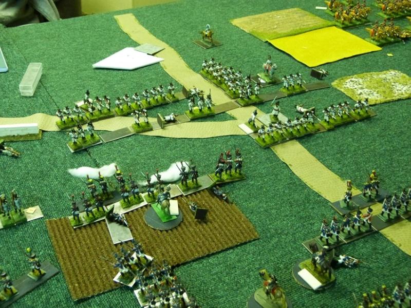 Français contre Prussiens. Centre11