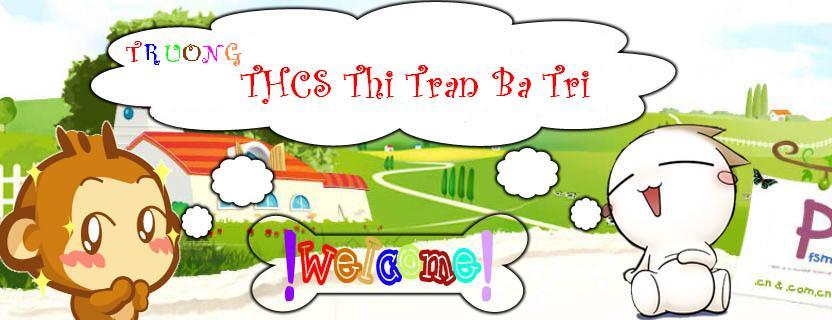 Diễn đàn trường THCS Thị Trấn Ba Tri