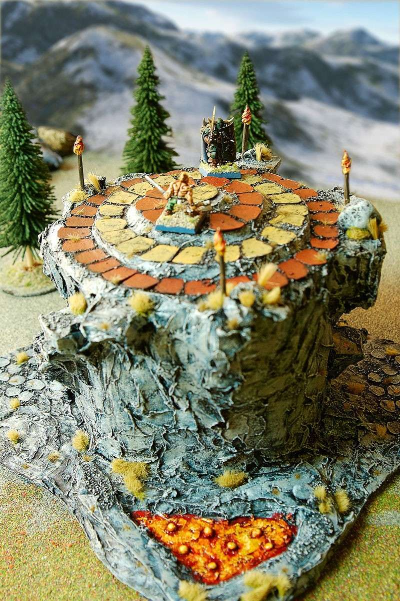 Border Town Burning gaming board (Mountains of Mourn) Barbar10