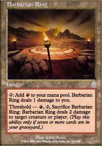Border Town Burning gaming board (Mountains of Mourn) Barbar11