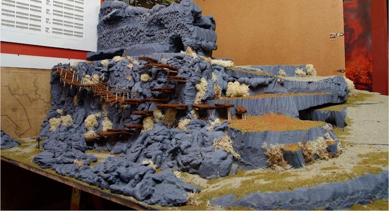 Border Town Burning gaming board (Mountains of Mourn) Mounta12