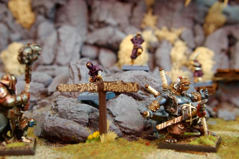 Border Town Burning gaming board (Mountains of Mourn) Wargam10