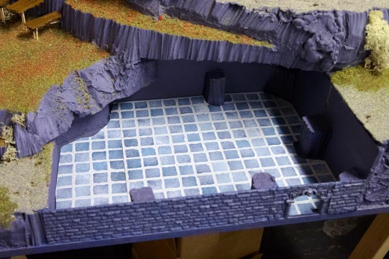 Border Town Burning gaming board (Mountains of Mourn) Wargam11