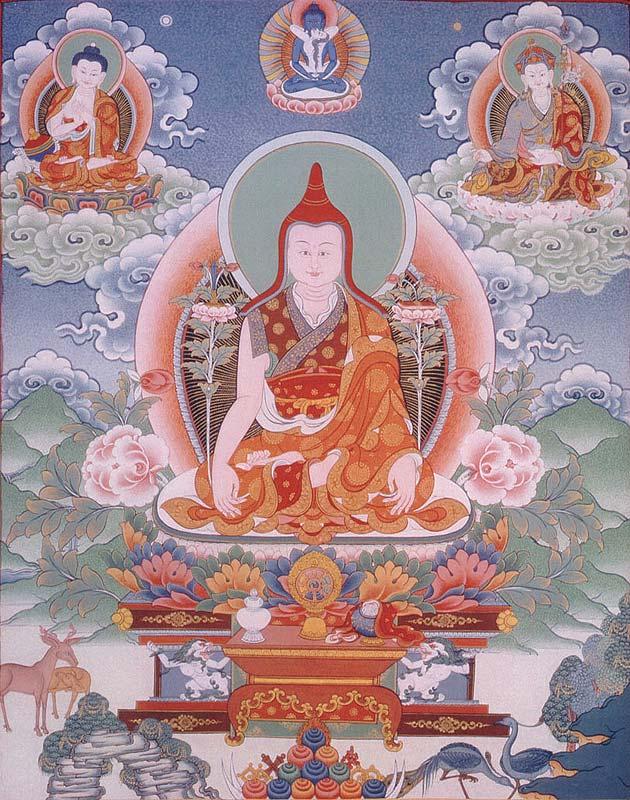 Dzogchen: Trente conseils donnés du coeur par Gyalwa Longchenpa Longch10
