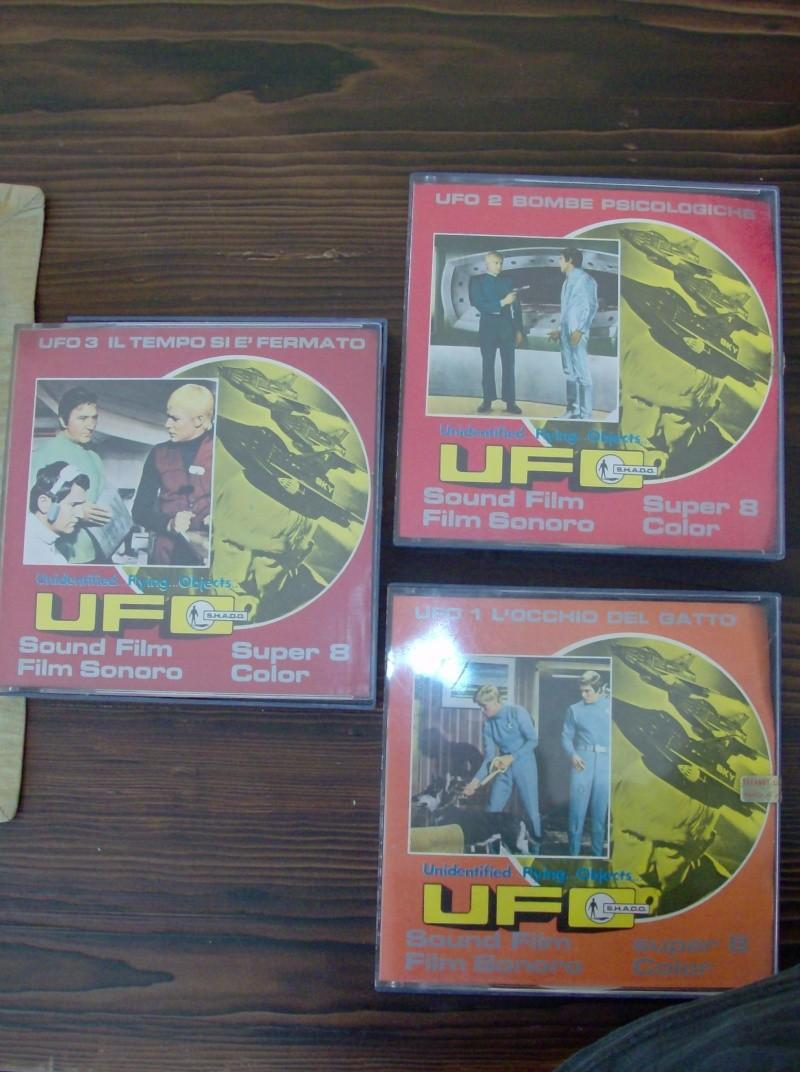 UFO Cofanetto Techno Film S.H.A.D.O Film sonoro super 8 MM Color 3 episodi Hpim4323