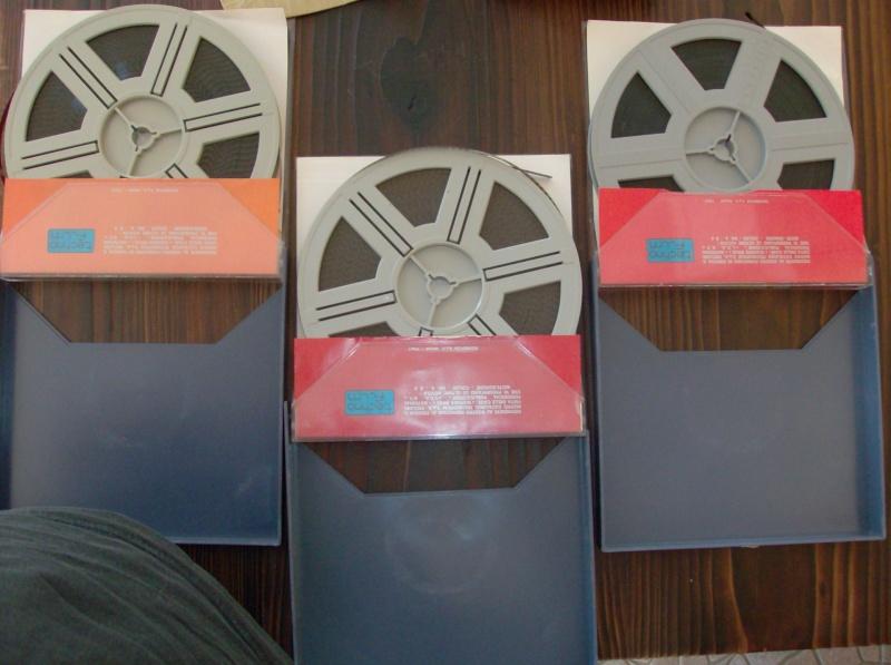 UFO Cofanetto Techno Film S.H.A.D.O Film sonoro super 8 MM Color 3 episodi Hpim4326