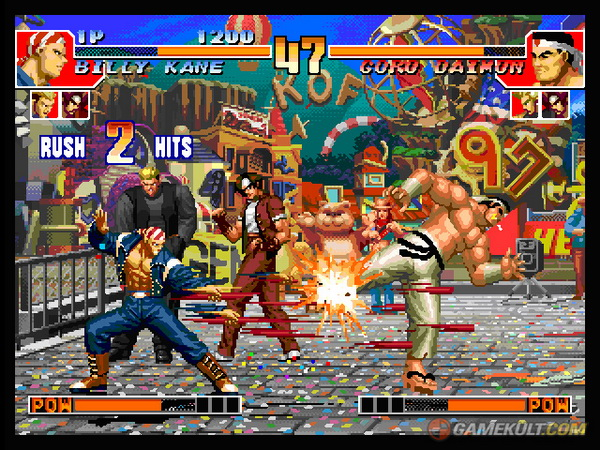 The King of Fighters Collection : The Orochi Saga sur Ps2 Me000112