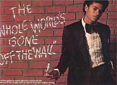 "Immagini era ""OFF THE WALL"" Offthe11"