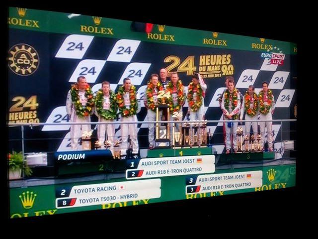 24h du Mans 22/23 Juin 2013 - Page 4 Podium10