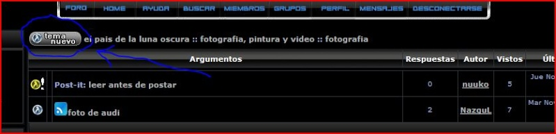 Mini tutorial para hacer post con imagenes, videos etc. Tuto110