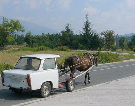 Les moyens de transport Traban10