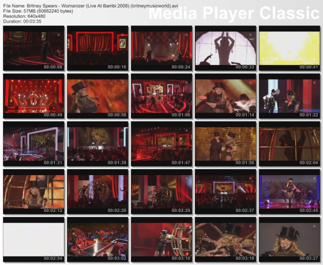 Womanizer (Live At Bambi 2008) HDTV Britne31
