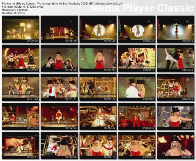 Womanizer (Live At Star Academy) HDTV Britne32