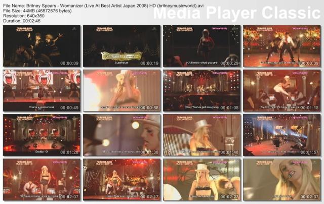 Womanizer (Live At Best Artist Japan) (HDTV) Britne38
