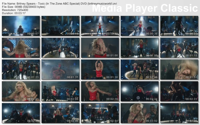 Toxic (In The Zone ABC Special) (DVDRip) Britne42