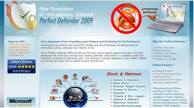 Perfect Defender 2009 - Guida alla rimozione Perfec11